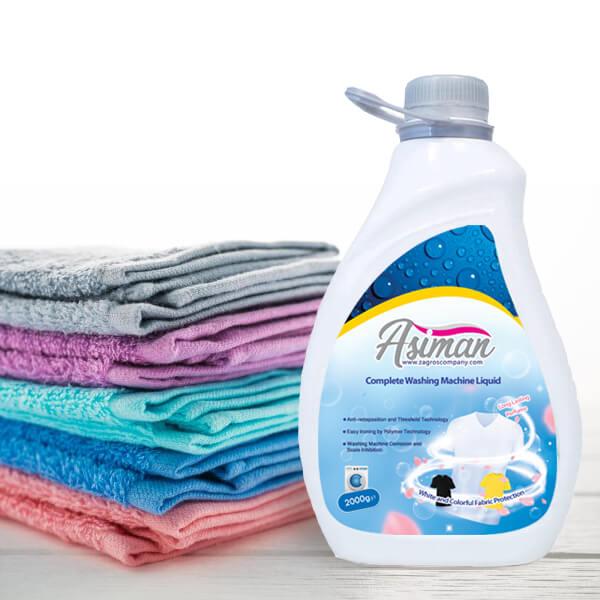 مایع ماشین لباسشویی